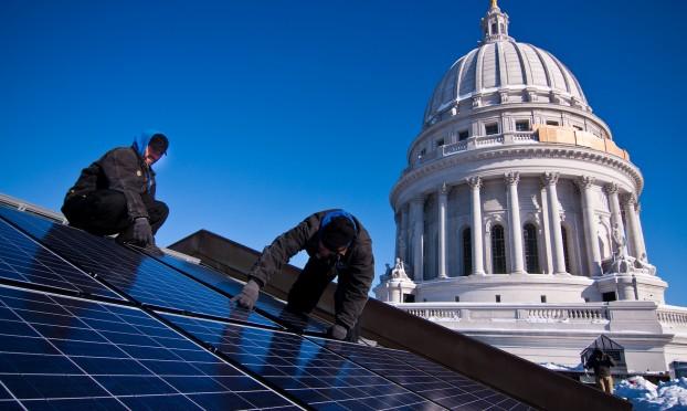 H&H solar install-capitol