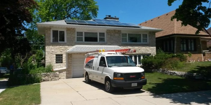 ES solar install