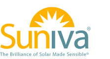 suniva logo with tag line