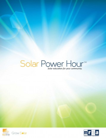 Solar Power Hour Guide cover