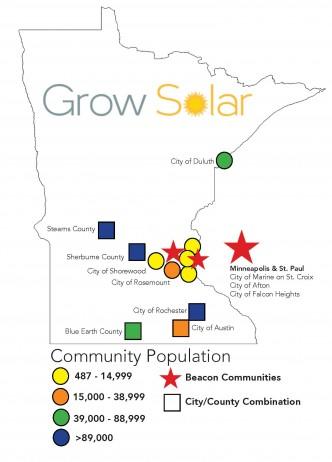 Minnesota GS Map